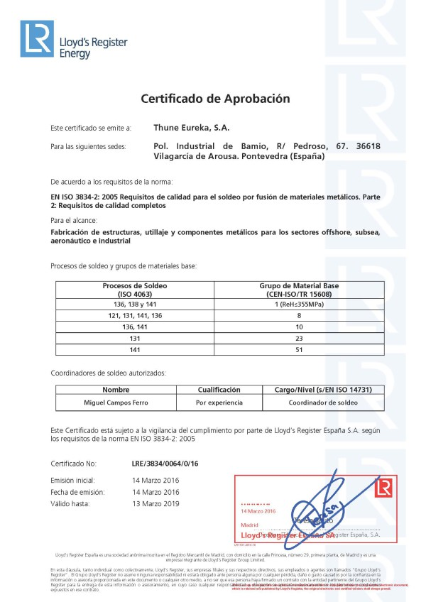 Thune Eureka-3834-Certificado español_R0_Mar16